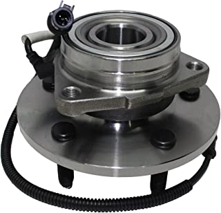 Brand New Front 4x4 5-Lug Wheel Hub and Bearing Assembly w/ABS - [00-02 Ford Expedition 4x4 w/M-14 Bolts] - [00-02 Navigator 4x4 w/M-14 Bolts]