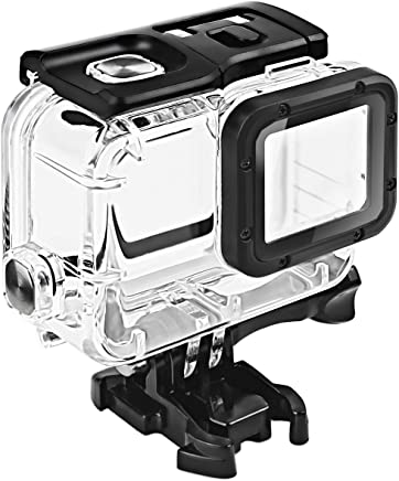 FitStill Waterproof Housing for GoPro HERO 2018/7/6/5 Black, Protective 45m Underwater Dive Case Shell with Bracket Accessories for Go Pro Hero7 Hero6 Hero5 Action Camera