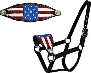 Best red white and blue horse halter Reviews