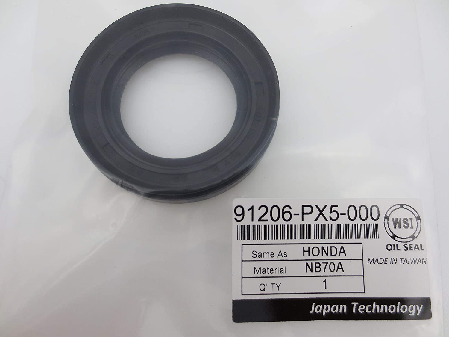 WSI 91206-PX5-000 Oil Seal For Front Shaft Honda sale Drive for Dedication