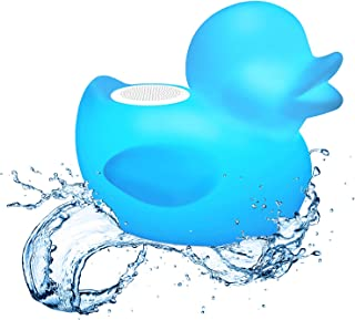 it.innovative technology Glowing Waterproof Rechargeable Bluetooth Duck Pool Floating Speaker, Multi (ITSBO-530) photo