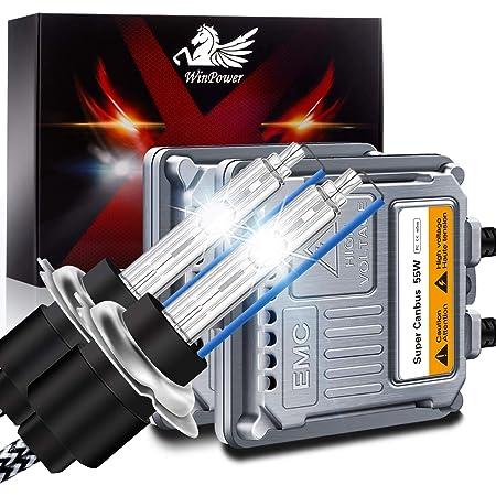 M Tech Kmsmph76 Kit Xenon Canbus Slim H7 6000 K Auto