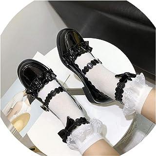 [yeyan] 柔らかい姉妹靴片角妖精靴ティーパーティーシューズ