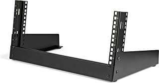 StarTech.com 4U Open Frame Desktop Rack - 2 Post Free Standing Network Equipment Rack for up to 66 lbs (RK4OD)