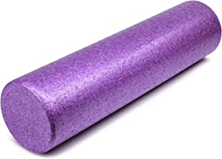 Yes4All Combo High-Density Foam Roller/Round Foam Roller - EPP Foam Roller for Back