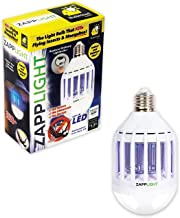 LED light bulb that kills flying insects and mosquito's