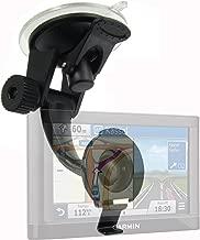ChargerCity Car Truck Strong Suction Mount for Garmin Nuvi GPS 42LM 52LM 54 55LMT 56LMT 57LMT 58LMT 65 66 67 68 2557 2559 2589 2598 2689 2699 DriveSmart Drive 50 51 60 61 LM LMT T GPS
