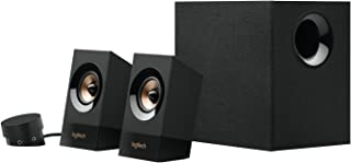 Logitech Z533 2.1 Sistema de Altavoces 2.1 con Subwoofer, Sonido Potente, 120W de Pico, Graves Potentes, Entradas Audio 3.5 mm/RCA, Multidispositivos, Enchufe UK, PC/PS4/Xbox/TV/Smartphone/Tablet