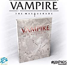 Modiphius Vampire The Masquerade: 5th Edition Core Rulebook Deluxe Alternate Cover