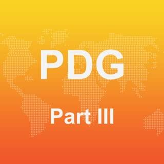 PDG Part III Practice Test 2017 Edition