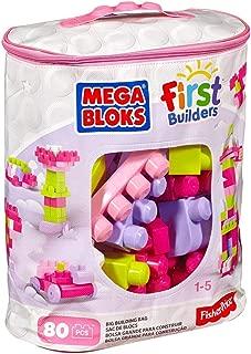 Mega Bloks DCH62First Builders Big Building Bag, Pink