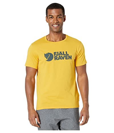 Fjallraven Logo T-Shirt (Ochre) Men