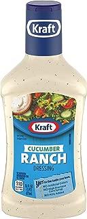 Kraft Cucumber Ranch Dressing (16 oz Bottle)
