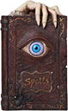 Pacific Giftware Evil Eye Book of Spells Resin Money Bank Halloween Decor Gothic Collectible 8.25 Inches
