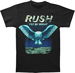 Rush Fly by Night Owl Graphic Short Sleeve Band T-Shirt