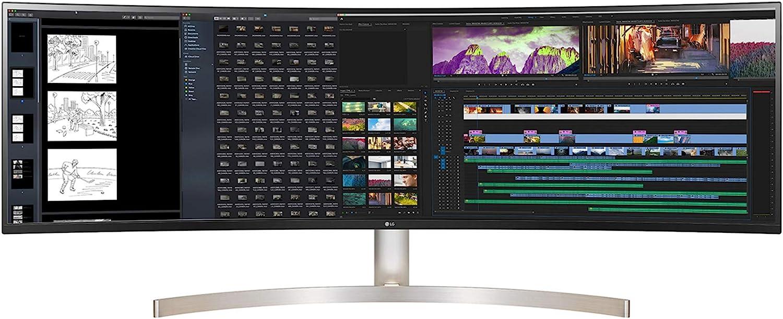 LG DQHD Monitor 49″ (5120 x 1440) 32:9 60Hz Curved DQHD Monitor