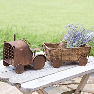 CTW Home Collection Tractor Harvest Planter