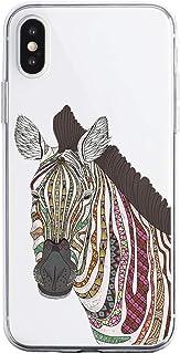 Oihxse Funda Dibujos Animal Lindo Compatible iPhone SE 2020/iPhone 9 4.7'' Carcasa Transparente Clear Silicona TPU Gel Sua...