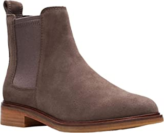 Womens Clarkdale Arlo Chelsea Boot (7 B US, Taupe Suede)