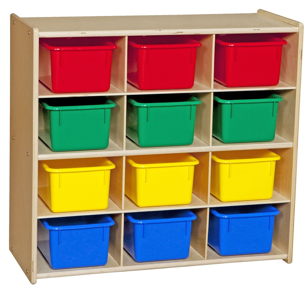 Contender 12 Compartment Toy Storage for Kids 67% OFF trend rank of fixed price Cabinet Montessor