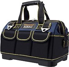 AIRAJ 45 * 25 * 30 cm Close Top Tool Bag Dubbele Stof Grote Opbergtas met Verstelbare Schouderriem en Stevige Onderkant, P...