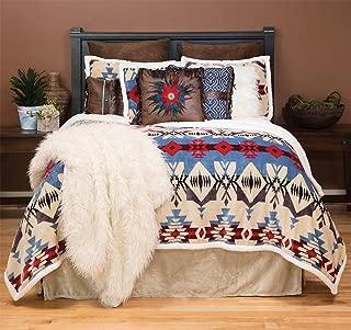 Carstens, Inc Blue River Plush Comforter Bedding Set, Queen