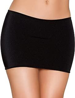Clingy Lycra Mini Skirt
