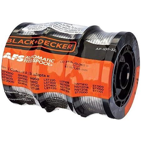 30ft 0.065 Trimmer Line Bobine di ricambio per Black Decker AF-100-3ZP Weed Eater OxoxO Replace AF-100 Black and Decker String Trimmer