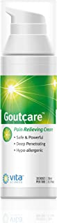 Gout Cream for Gout Pain -Gout Attacks and Gout Flare Ups Immediate Relief Cream - Fast-Acting Topical Application for Gout Pain Relief Where and When You Need It Most. Safe & Effective.