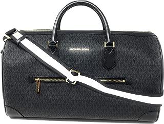 MK Signature Travel Duffle Bag 2019 Black Signature