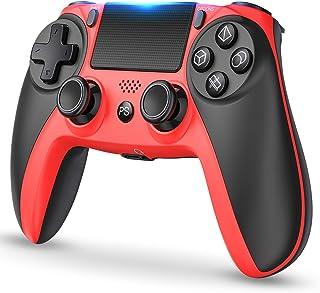 PS4 コントローラー [2020最新版] ワイヤレス 無線 Bluetooth 接続HD振動 イヤホンジャック スピーカー タッチパネルPS4 Pro/Slim 対応PS4 プロコン 小型 日本取扱説明書付き