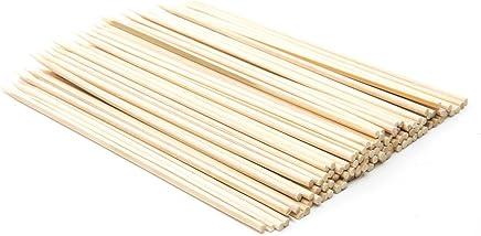 Fox Run Bamboo BBQ Appetizer Shish Kebab Skewers, 6-Inches, Set of 100