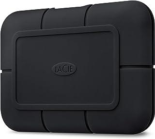 LaCie Rugged SSD Pro, externe SSD 2 TB, 2.5 Zoll, Thunderbolt 3, PC & Mac, inkl. 5 Jahre Rescue Service, Modellnr.: STHZ2000800