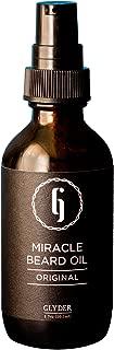 Glyder Original Edition Organic Miracle Beard Oil with Argan, Vitamin E, Essential Oils | 100% All-Natural & Vegan | For Moisturizing & Beard Growth (1.7 oz)