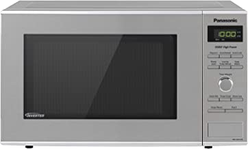Panasonic Microwave Oven NN-SD372S Stainless Steel Countertop/Built-In with Inverter Technology and Genius Sensor, 0.8 Cu....
