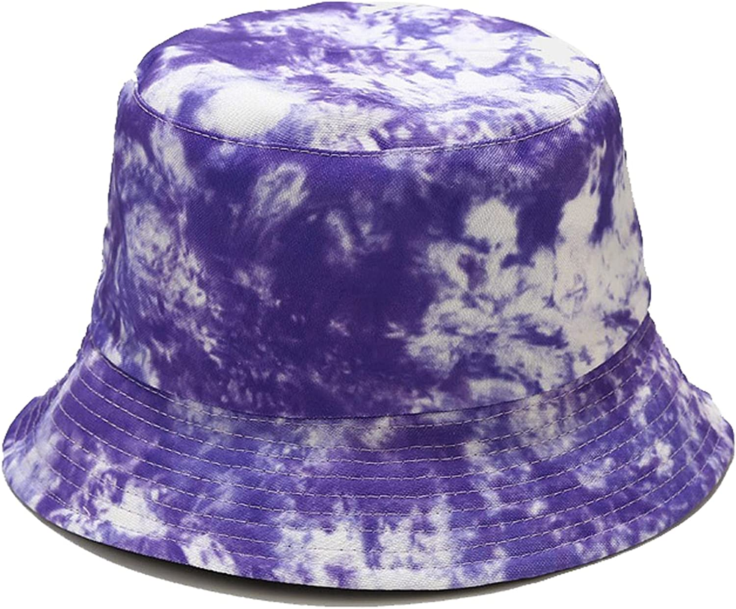HMYLI Double-Sided Color Printing Fisherman Hat Foldable Beach Leisure Outdoor Travel Vacation Unisex