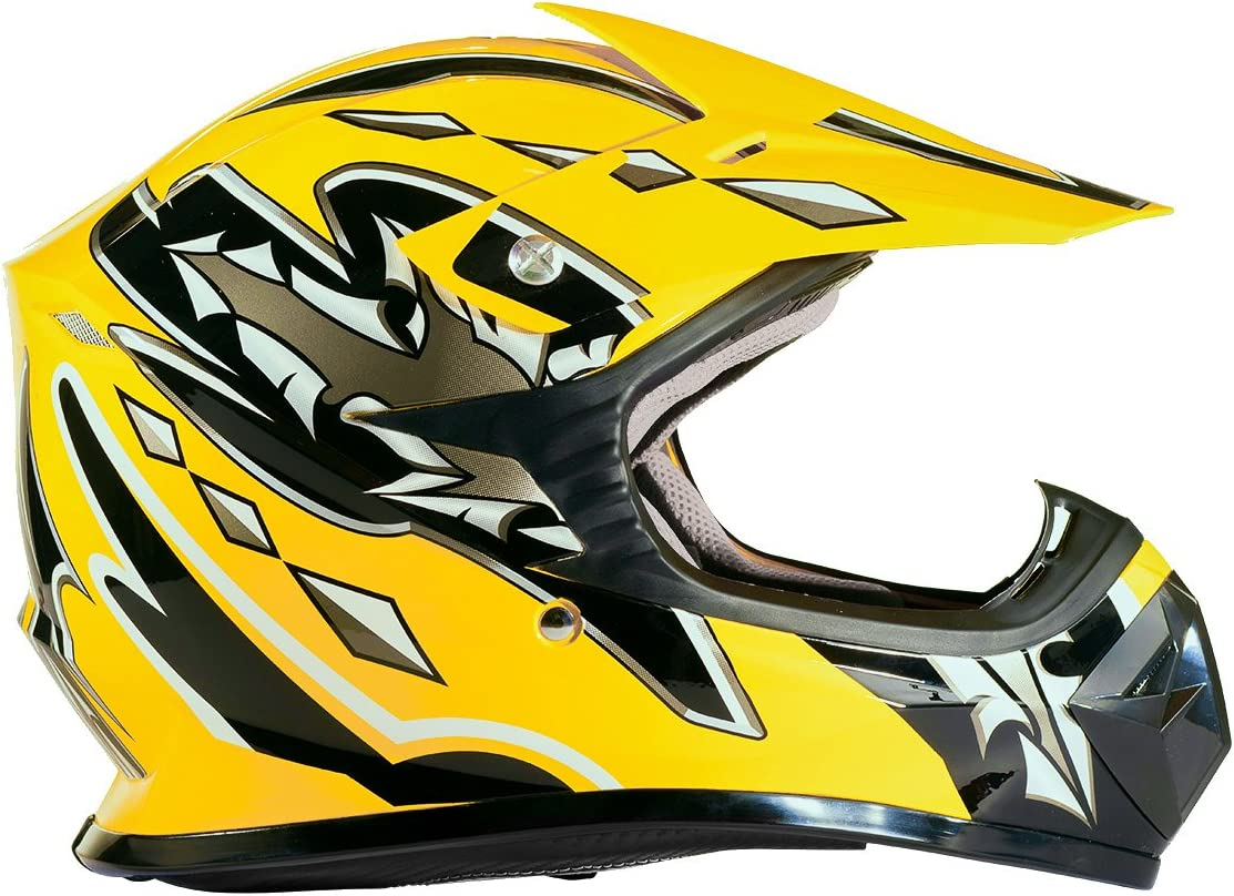 Typhoon Kids Youth Offroad Helmet DOT ATV Bike Max 53% OFF Motocross MX Dirt Ranking TOP8