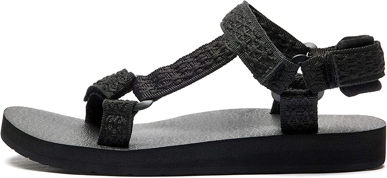 Women's Original Sandals Sport Water Sandals with Arch Support Yoga Mat Insole Outdoor Hiking Sandals Light-Weight Shoes