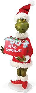 Department 56 Possible Dreams How The Grinch Stole Christmas Merry Grinchmas Figurine, 30 Inch, Multicolor