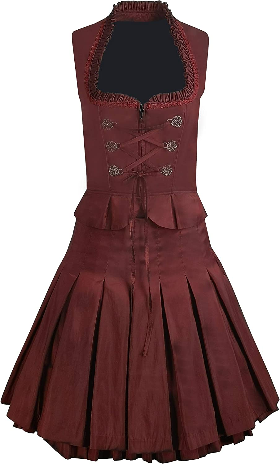 Women Dirndl SEAL limited product Skirt and Bodice Traditional Chicago Mall German Bavarian Costum