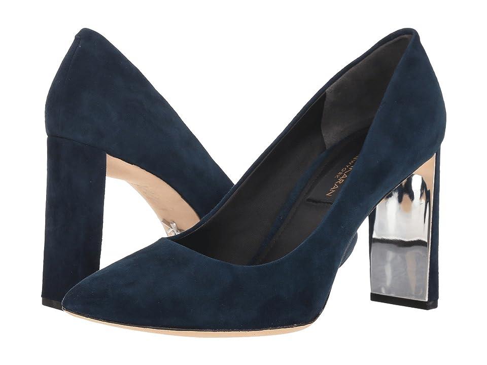 Donna Karan Criss (Dark Blue Suede) High Heels