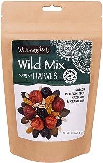 Wilderness Poets, Song of Harvest Wild Mix - Raw Trail Mix - Hazelnuts, Pumpkin Seeds, Cranberries, Golden Raisins, Sunflo...