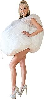 Wedding Dress Slip Drawstring Underskirt Accessory – As Seen on Shark Tank