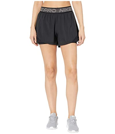 Nike Flex 2-in-1 Shorts Woven Essential (Black/Black/Thunder Grey) Women