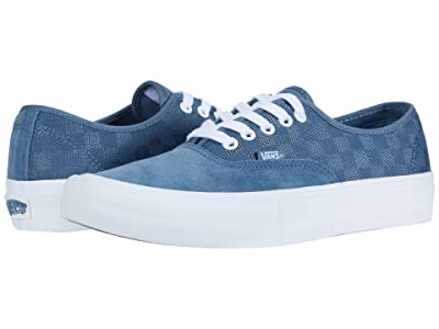 Vans Authentictm Pro ((Mirage) Blue/White) Skate Shoes