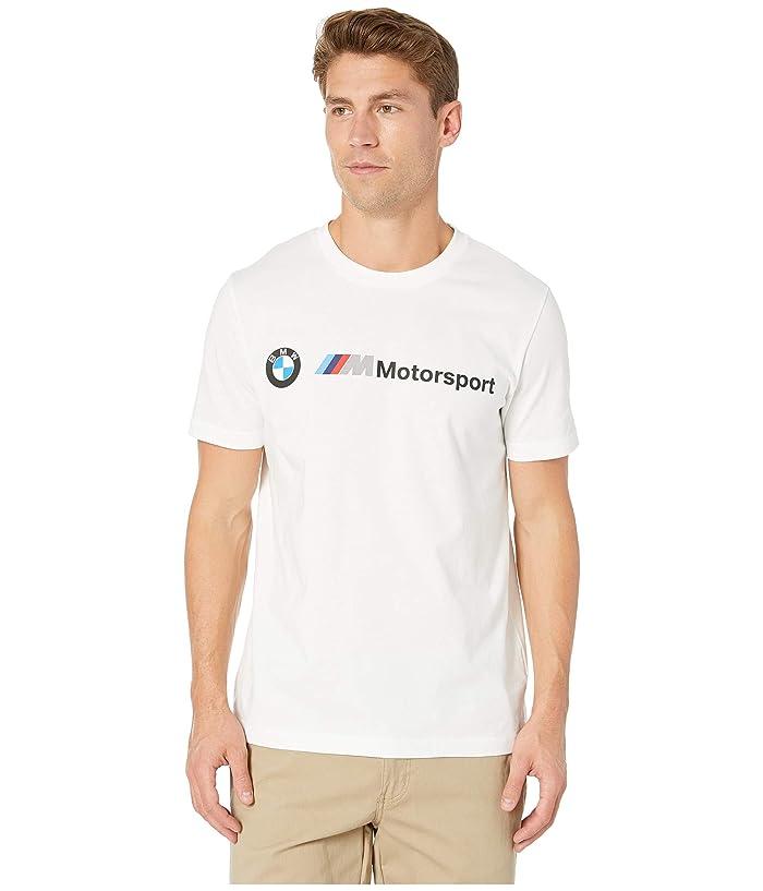 PUMA BMW MMS Logo Tee (PUMA White) Men