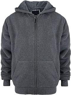 Yasumond Boys Hoodies Full Zip UpFleece Lined Athletic Youth Kids Sweatshirts,Size 8-16