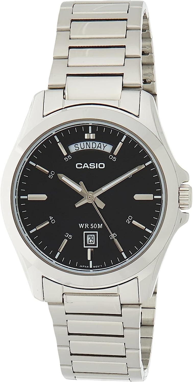 Casio De los hombres Watch Standard Reloj MTP-1370D-1A1