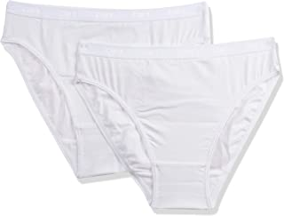 DIM Womens 4D97-White (0HY) Briefs (pack of 2)