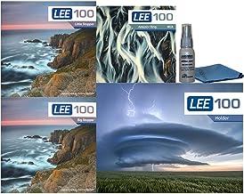 LEE Filters LEE100 77mm Premium Long Exposure Kit - Lee Filters LEE100 Filter Holder, LEE 100mm Big and Little Stopper, 77...